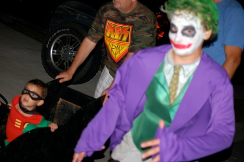 The evil Joker appears