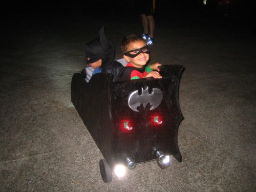 Batmobile: Even stylin' from the rear