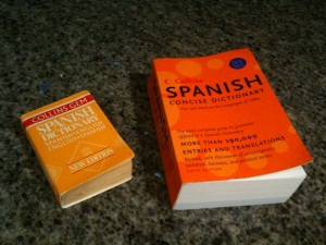 Spanish-English dictionaries
