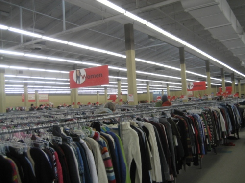 Inside Value Village