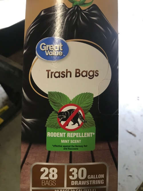 mint-scented rodent repellent bags